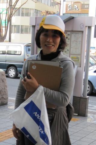 埼玉県熊谷市署名活動(3月21・22日) - 1