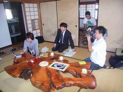 関西テレビ放送撮影風景