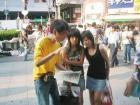 大阪市内での署名活動 - 3