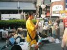 大阪市内での署名活動 - 1