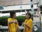 大阪市内での署名活動 - 2